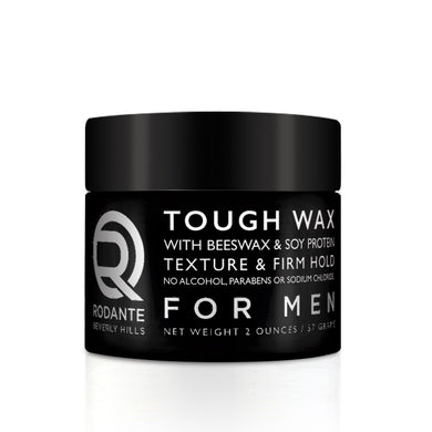 Tough Wax with Soy Protein
