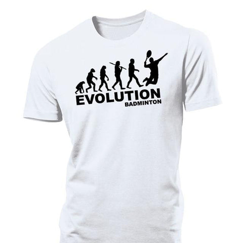 STA Evolution Of Badminton Men's Shirt - Supreme Tennis Athletes