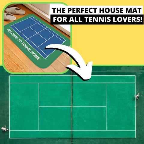 STA GS Tennis Court Mat( water absorbing, dust absorbing, anti-skid, )