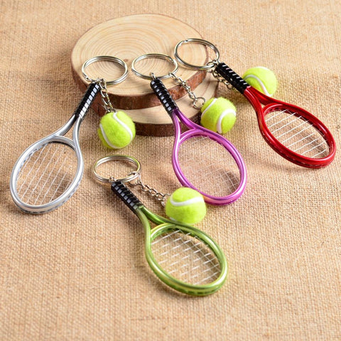 STA Mini Tennis Racket Keychain - Supreme Tennis Athletes