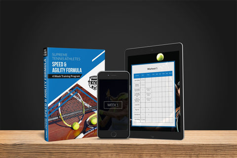 STA SPEED & AGILITY FORMULA 4- WEEK TRAINING PROGRAM - Supreme Tennis Athletes