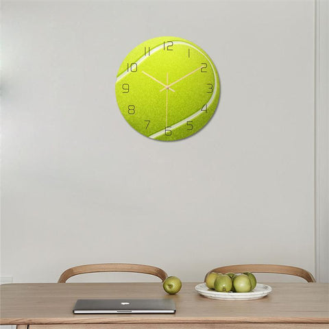 STA Tennis Ball Clock