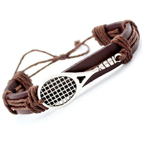 STA Tennis Leather Bracelet - Supreme Tennis Athletes