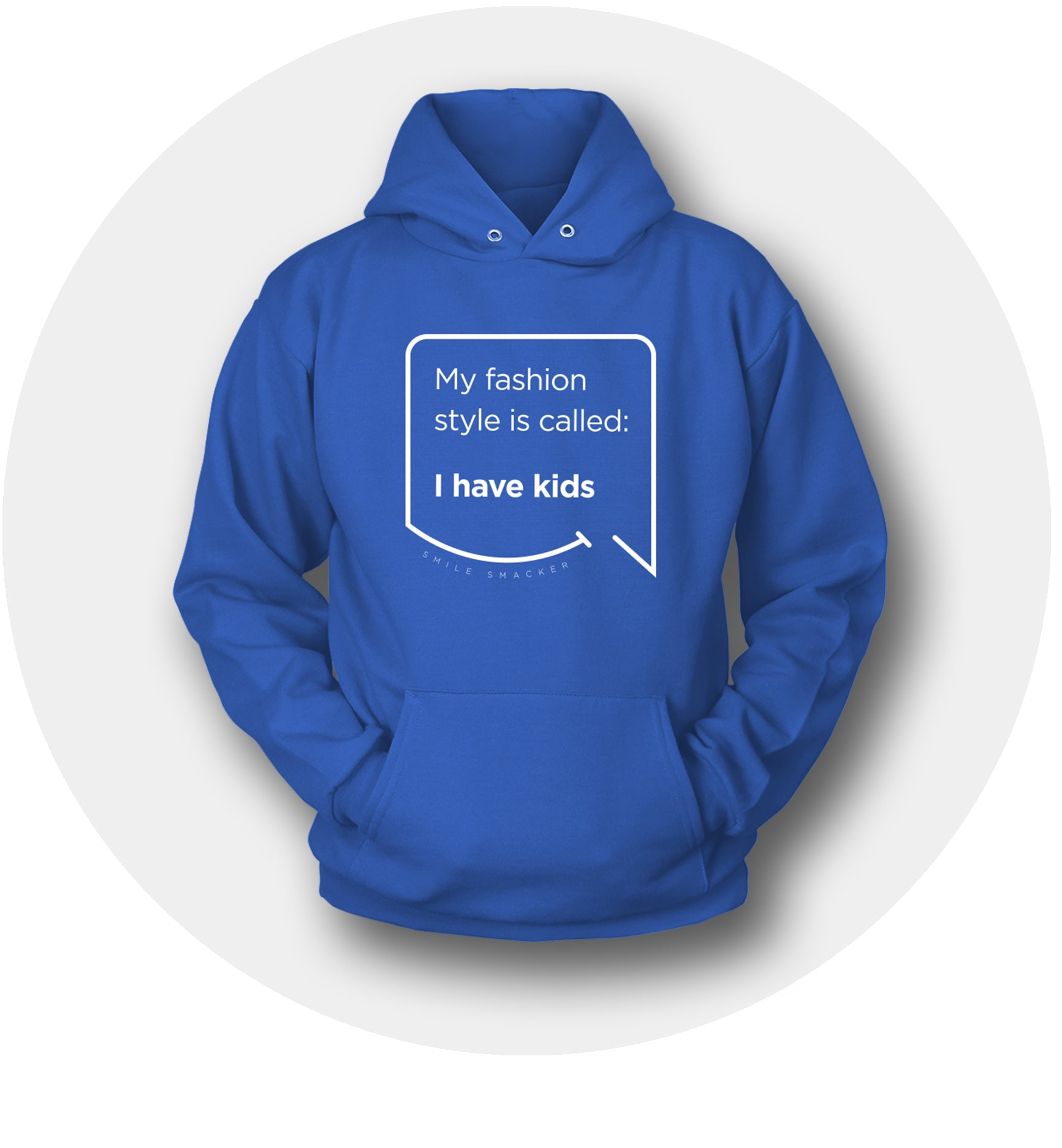 Smile Smacker Funny Mom Quote Hoodies Collection
