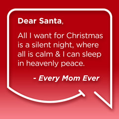 Funny Mom Quotes. Smile, Shop, then Share on Instagram, Facebook, Pinterest & Twitter. Dear Santa, All I want for Christmas is a silent night where I can sleep in heavenly peace. Every Mom Ever
