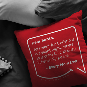 "Funny Mom Quotes and Gifts: ""Dear Santa"""
