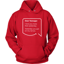 "Funny Mom Quotes and Gifts: ""Dear Teenager"""