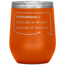 "Funny Mom Quotes and Gifts: ""Motherhood Survivor"""