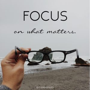 Word of the Week: FOCUS