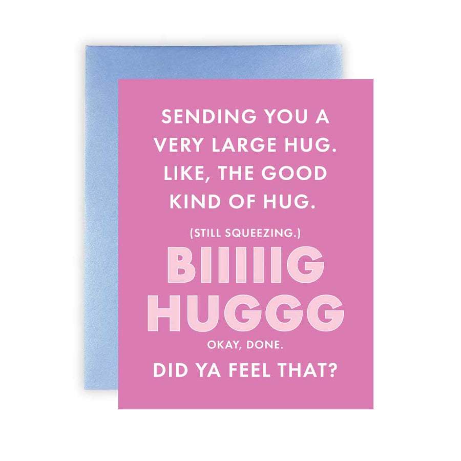 """Big Hug"" - Greeting Card"