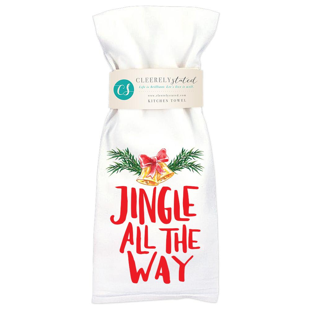 Jingle All The Way - Kitchen Towel