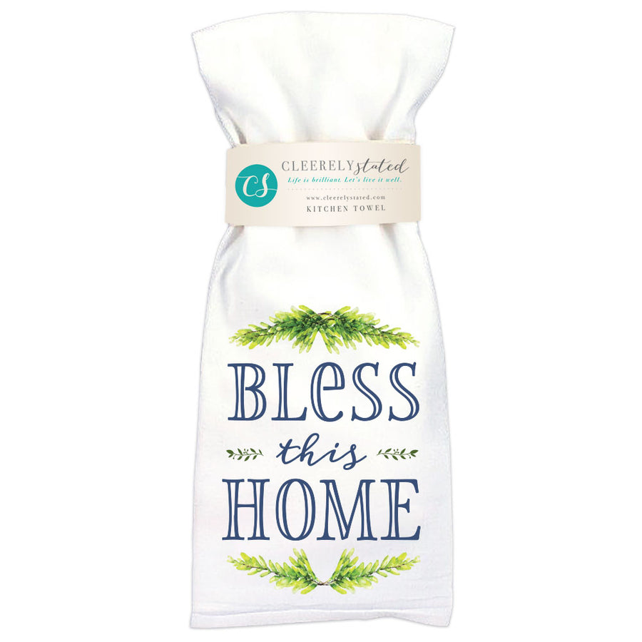 Bless This Home - Kitchen Towel