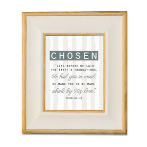 Chosen - Striped Wall Print
