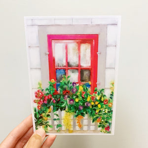 May Windowscape 5x7 Print
