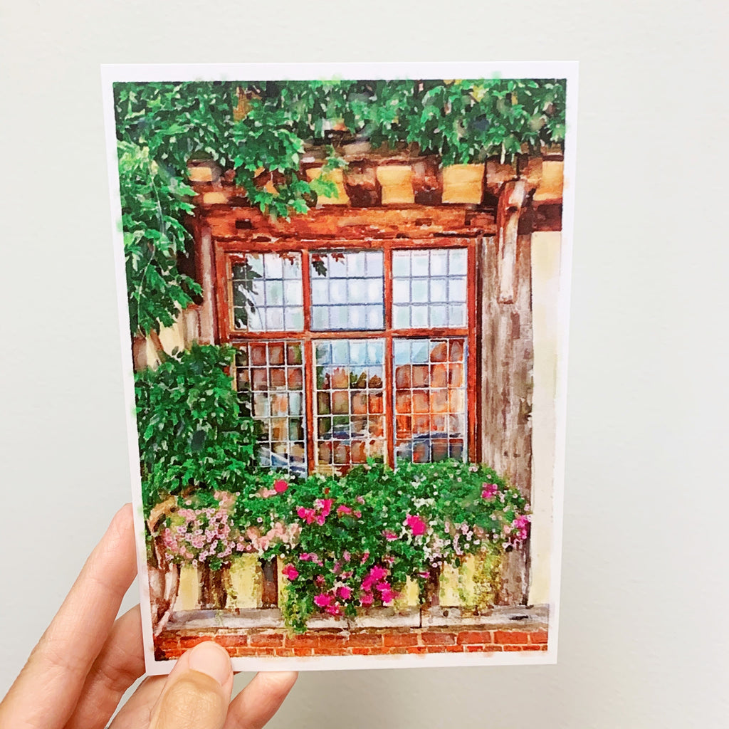 April Windowscape 5x7 Print
