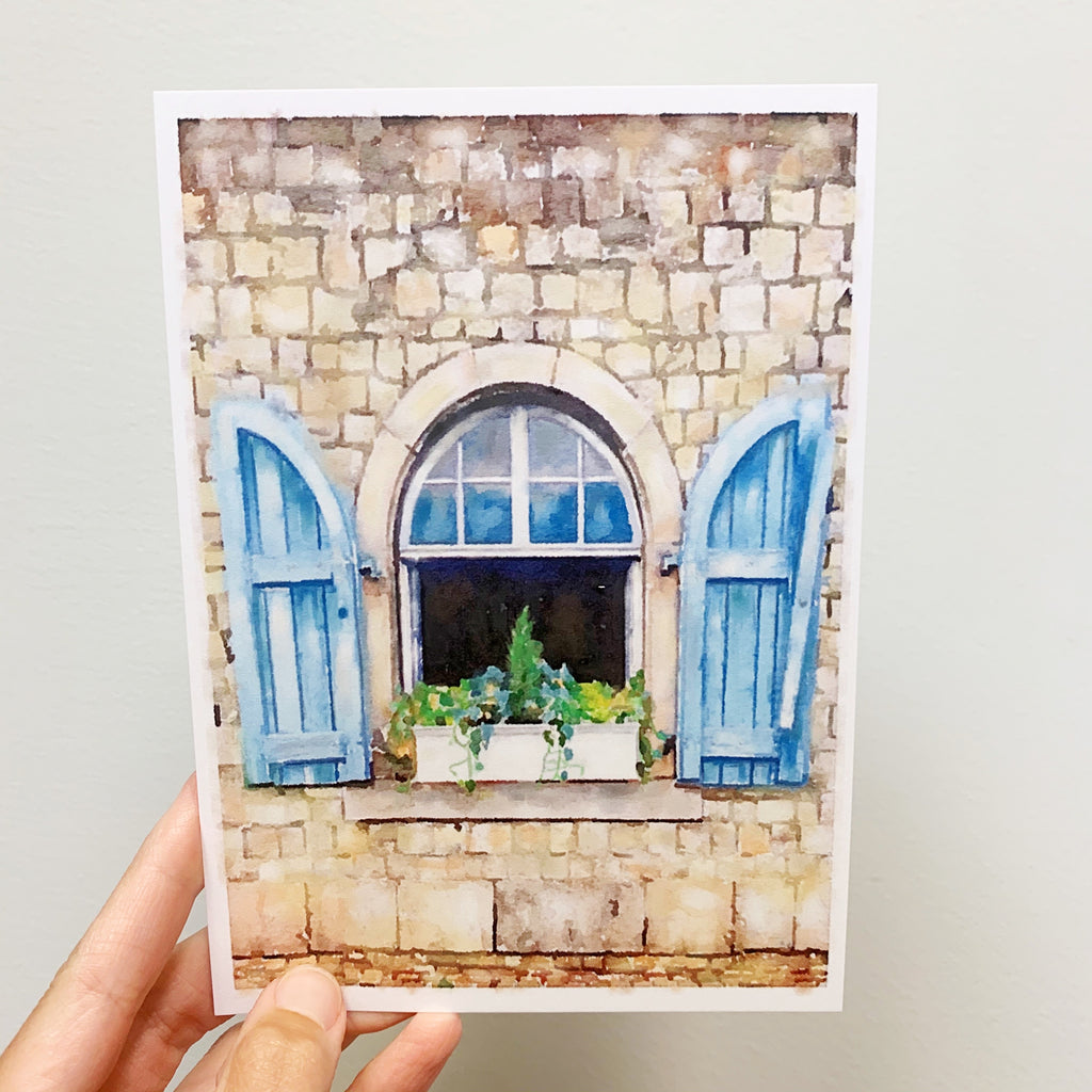 September Windowscape 5x7 Print