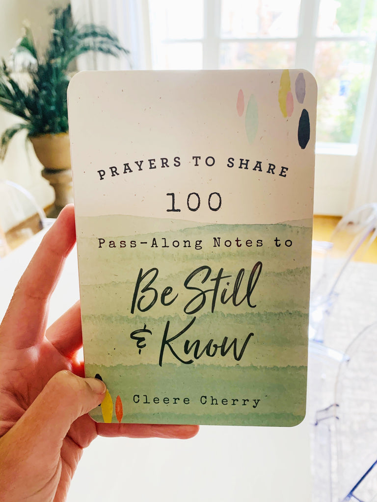 Prayers to Share to Be Still