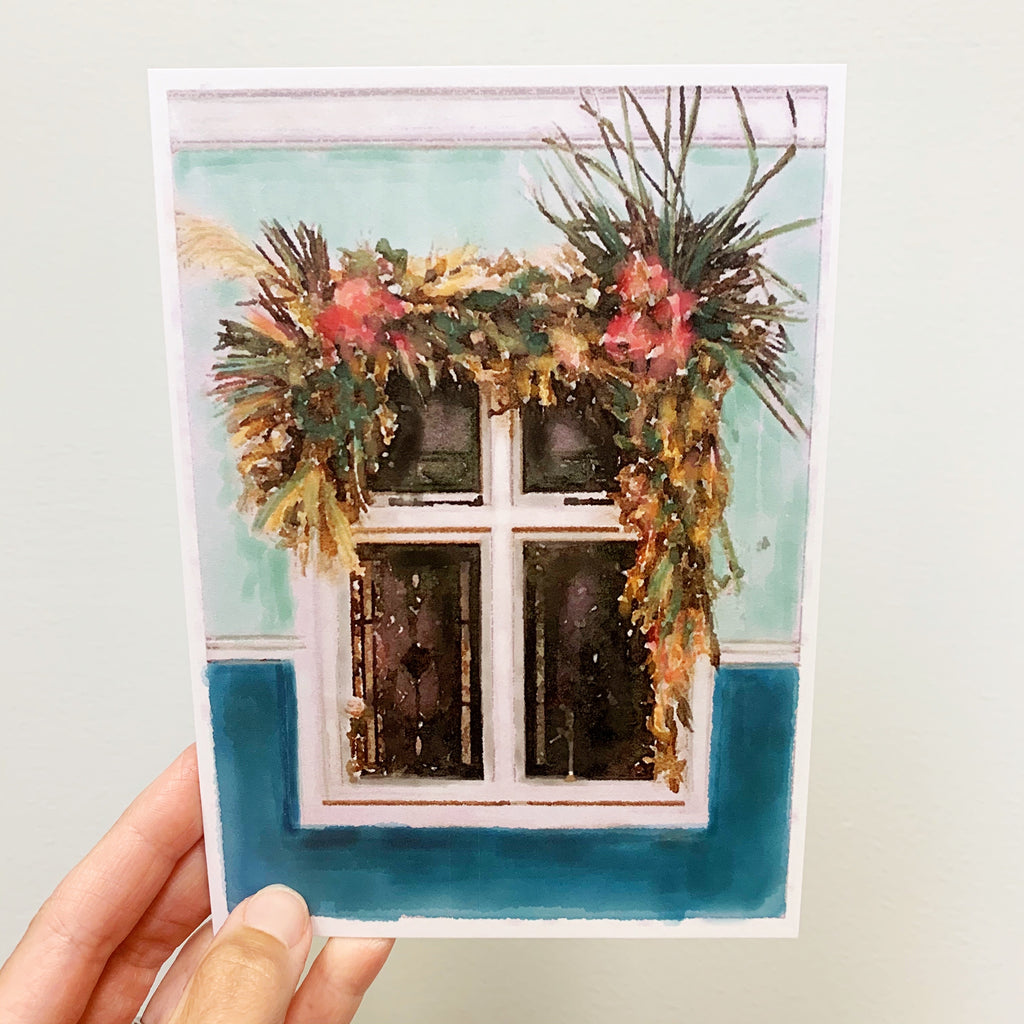 November Windowscape 5x7 Print