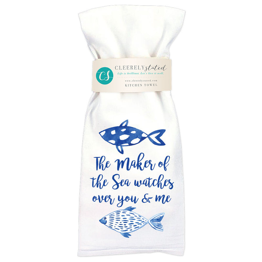 Maker Of The Sea - Kitchen Towel