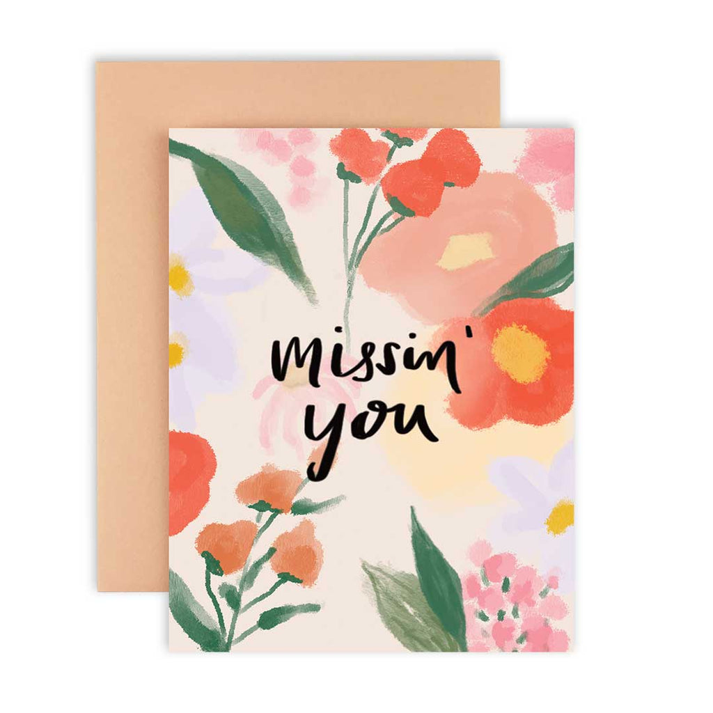 Missin' You - Greeting Card