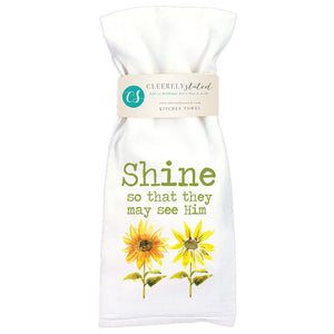 Shine Sunflower - Kitchen Towel