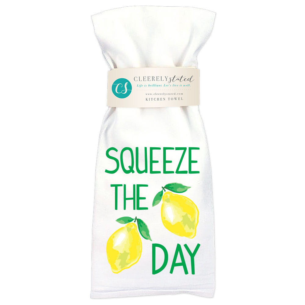 Squeeze The Day - Kitchen Towel