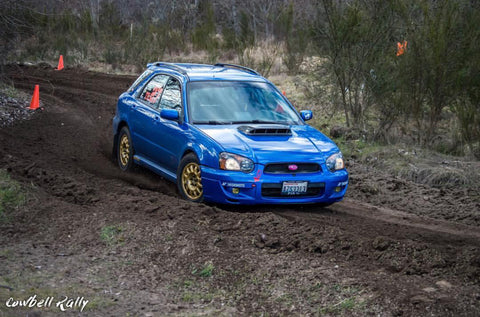 Rally suspension