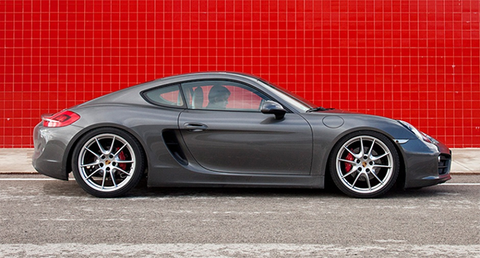 Porsche Cayman Coilovers