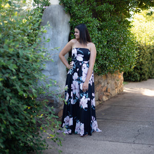 Willow Maxi Dress - Black