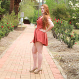 Aria Playsuit (Coral)
