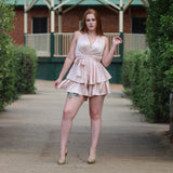 Bethany Playsuit - Champagne