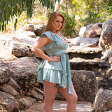 Victoria Playsuit (Mint)