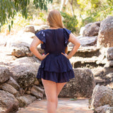 Victoria Playsuit (Navy)