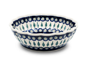 Medium Bowl 24cm Curved - Pattern 56