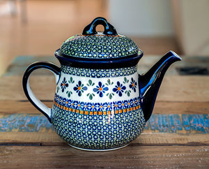 Large Teapot - Pattern DU60