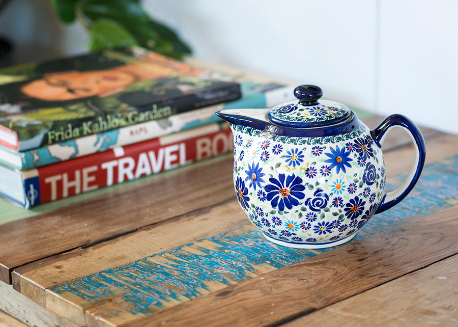 Small Teapot - Pattern DU126