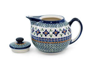 Small Teapot - Pattern DU60