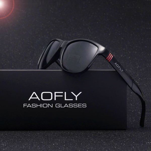AOFLY Brand Design Men Classic Sunglasses Polarized Male Glasses Driving Fishing Luxury Sun Glasses for Men Oculos Gafas AF6021