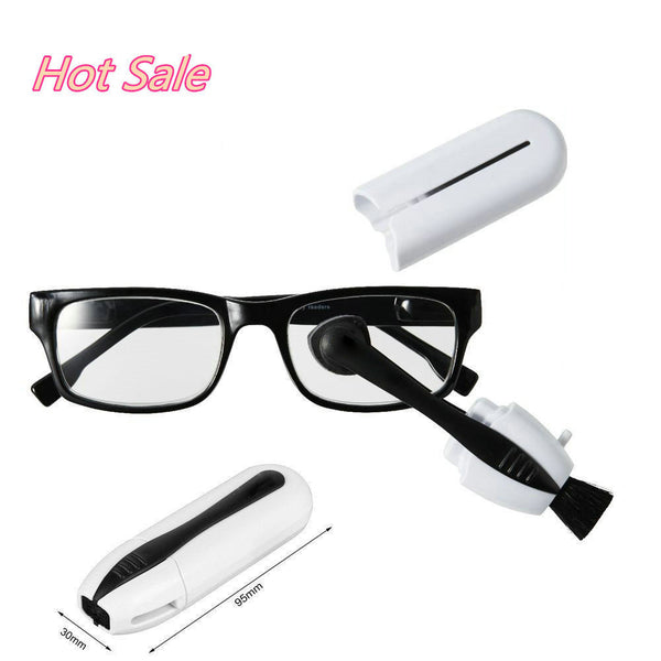 Hot Sale Glasses Cleaner Best Eyeglass Sunglass Eyewear Clean Brush Maintenance Vision Care Professional Clean Glasses tool