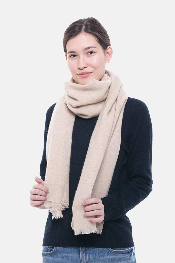 100% Pure Cashmere Scarf, Travel Wrap and Cashmere Shawl - GOYO CASHMERE LLC