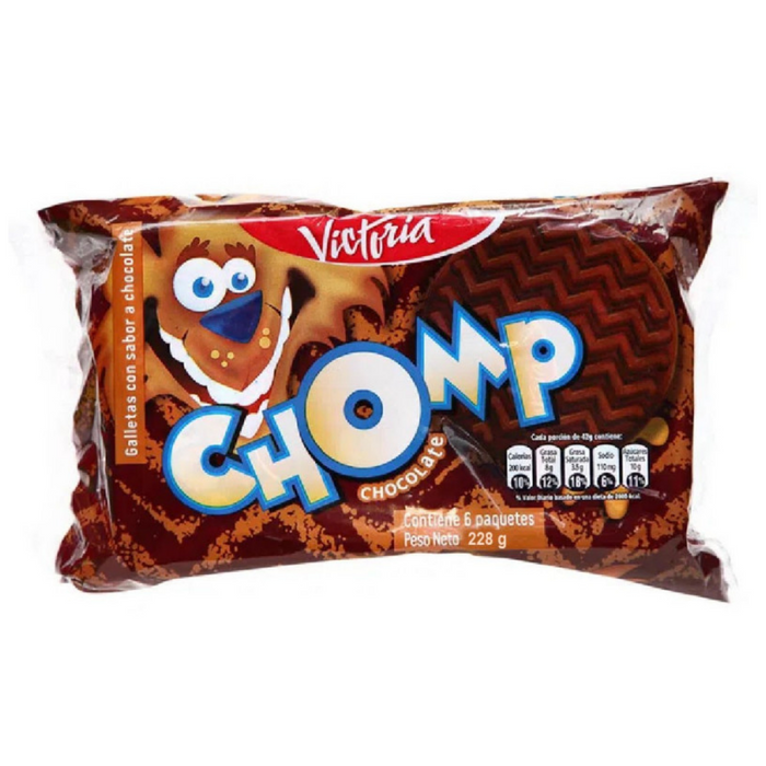 Galletas Chomp Chocolate - Pack 6 x 46g