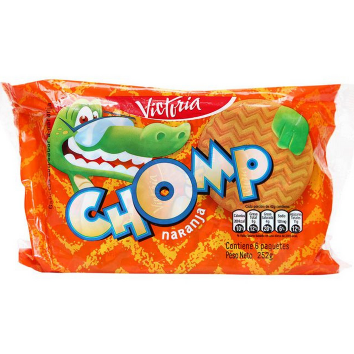 Galletas Chomp Naranja - Pack 6 x 46g