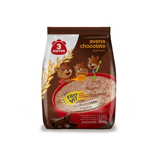 Avena Chocolate 3 Ositos 200 g
