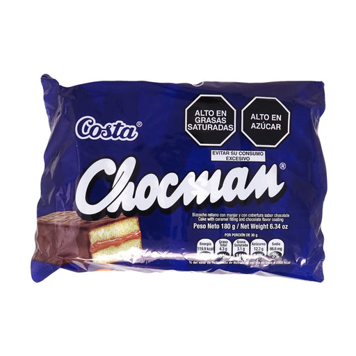 Chocman Costa - Pack 6 x 30g