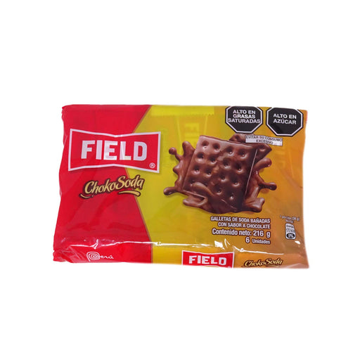 Galletas Choko Soda Field - Pack 6 x 36g