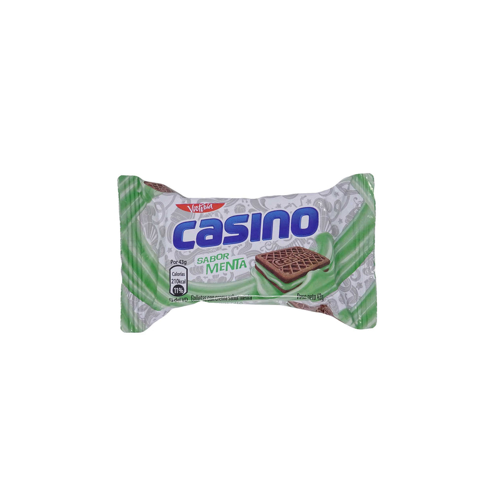 "Galleta ""Casino"" Menta 43 g"