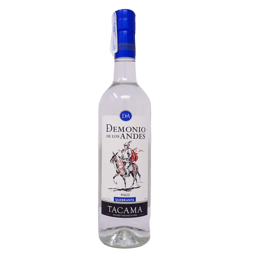 "Pisco Quebranta ""Demonio de los Andes"" Tacama 700 ml"