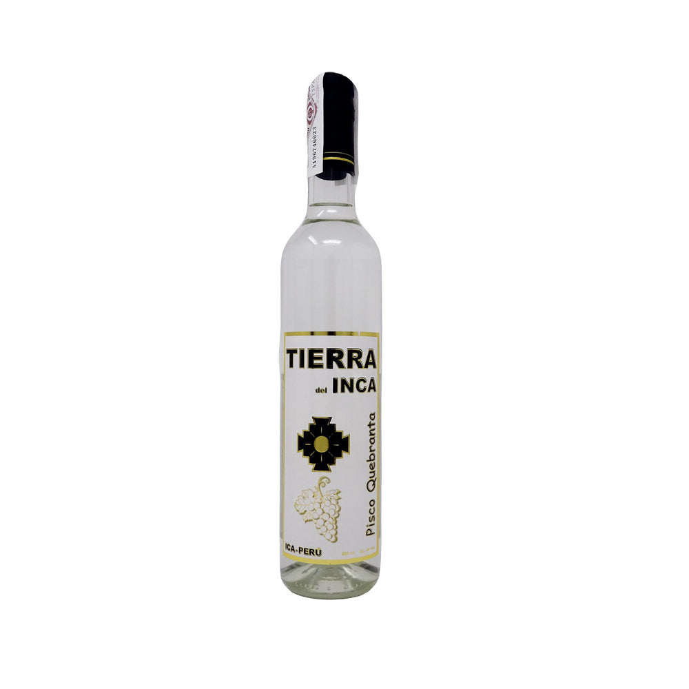 Pisco Quebranta Tierra del Inca 500 ml