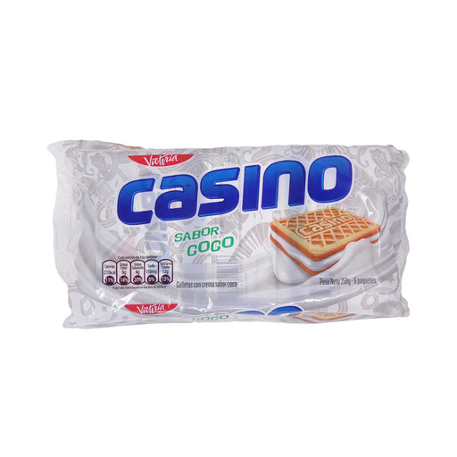 Galleta Casino Coco - Pack 6 x 43g