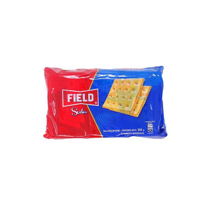 Galletas Soda Field - Pack 6 x 34g